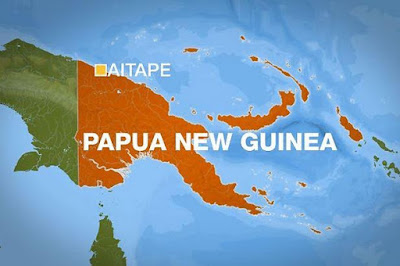 7.9 magnitude earthquake strikes New Guinea