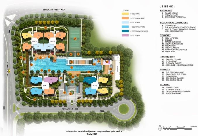 Lush Acres EC Sengkang - Siteplan