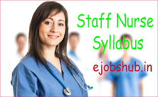 Staff Nurse Syllabus