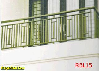 bengkel las cahaya pijar: model balkon minimalis