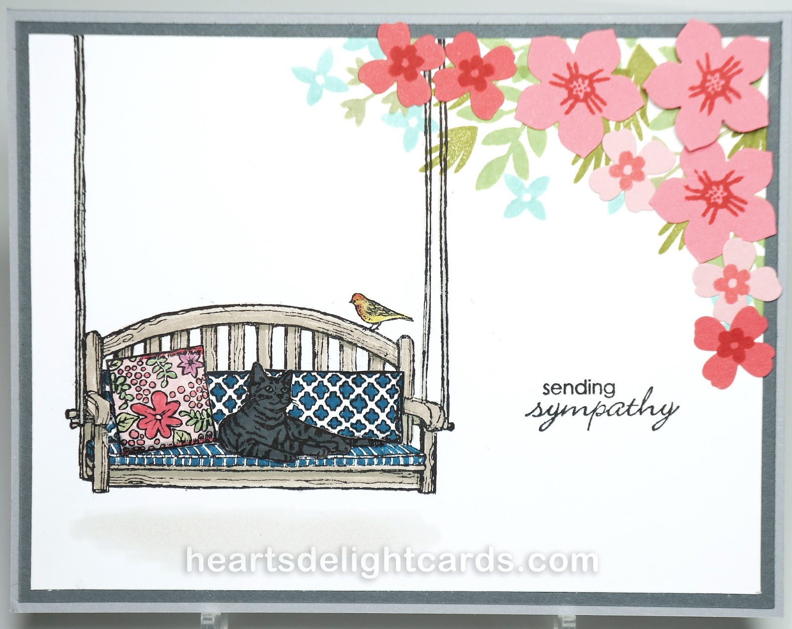 Hearts delight cards catalog sneak peek again heres a peek at another stamp set from the new catalog called sitting here this is a great versatile seti can see changing out the greeting and using kristyandbryce Images