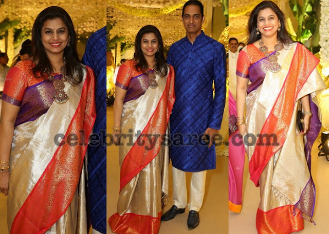 Pinky Reddy at Anirudh Reddy'S wedding