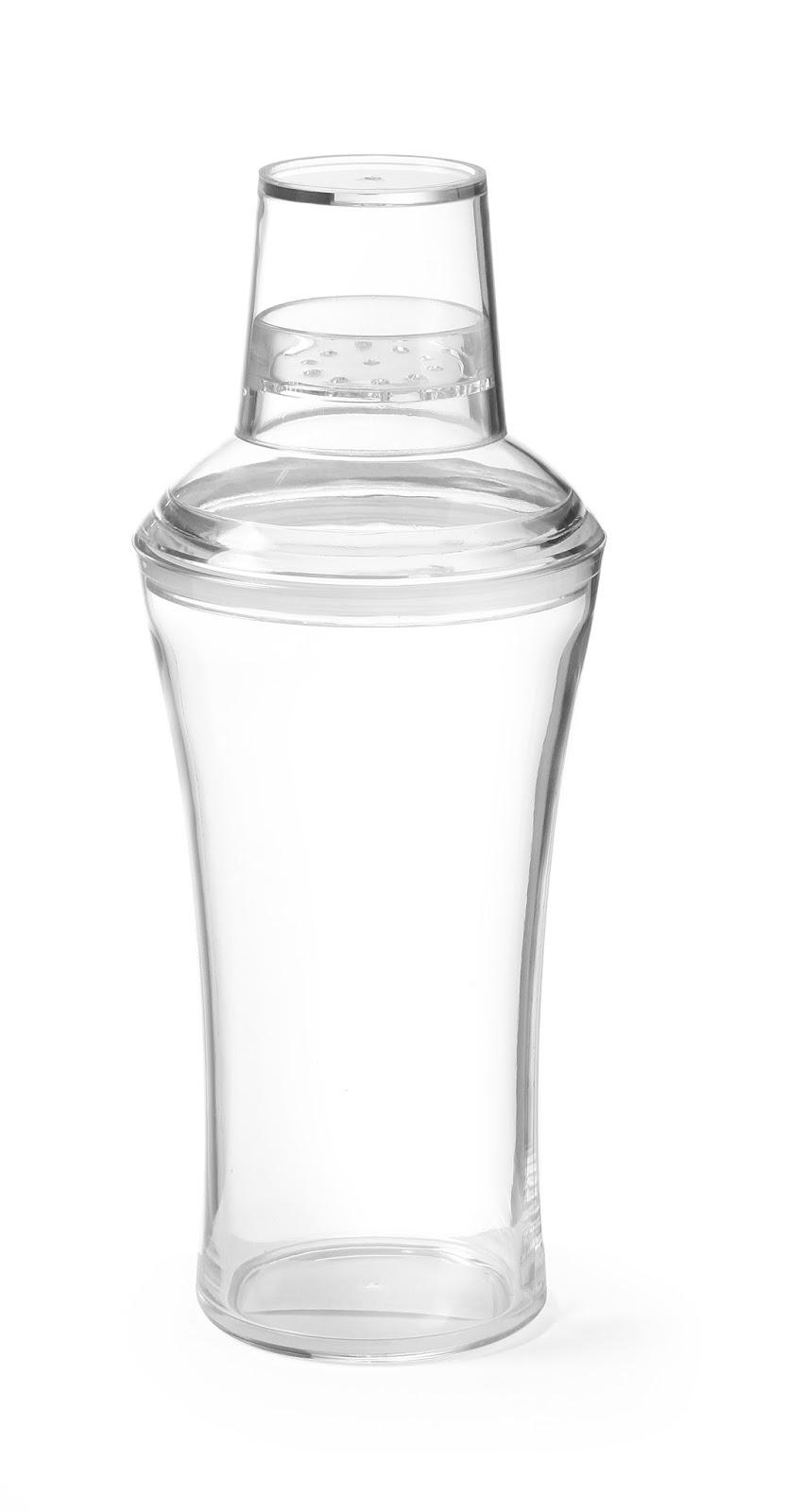 Shaker pentru Cocktailuri, Din Plastic SAN Transparent, Pret 33 RON cu TVA, Shaker pentru Bar, Produse Profesionale Horeca