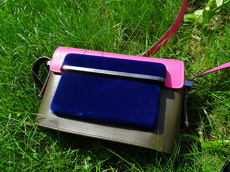 Mary_Katrantzou_Small_MVK_Bag_Pink_Leather_Blue_Velvet_Front