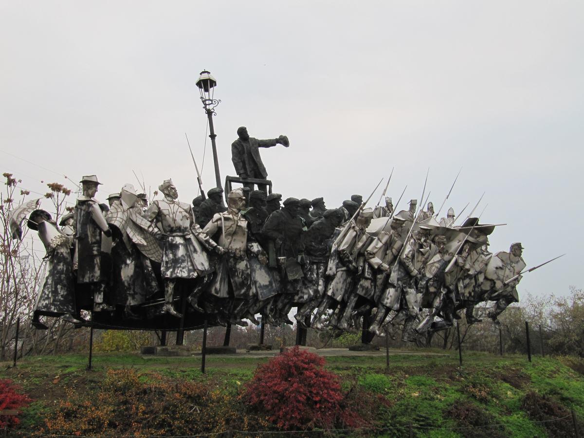parque Memento Budapest, estatuas comunistas