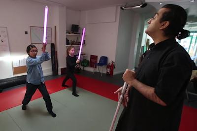 Faisal Mian believes lightsaber is an ideal training weapon