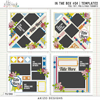 In The Box 04  Templates by Akizo Designs