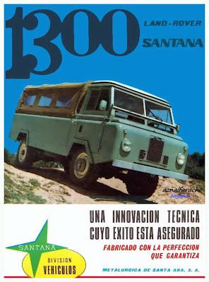 Land Rover 1300 - 1967 - Metalúrgica de Santa Ana - Linares