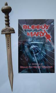 Portada del libro Bloody Mary, de Sean Patrick Traver