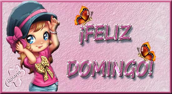 Feliz Domingo_Niña y Mariposas MARIPOSA-1