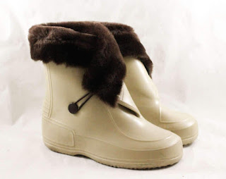 vintage child's boots