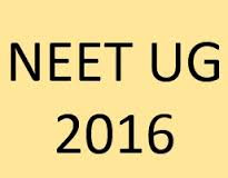 NEET 2016 Answer Key