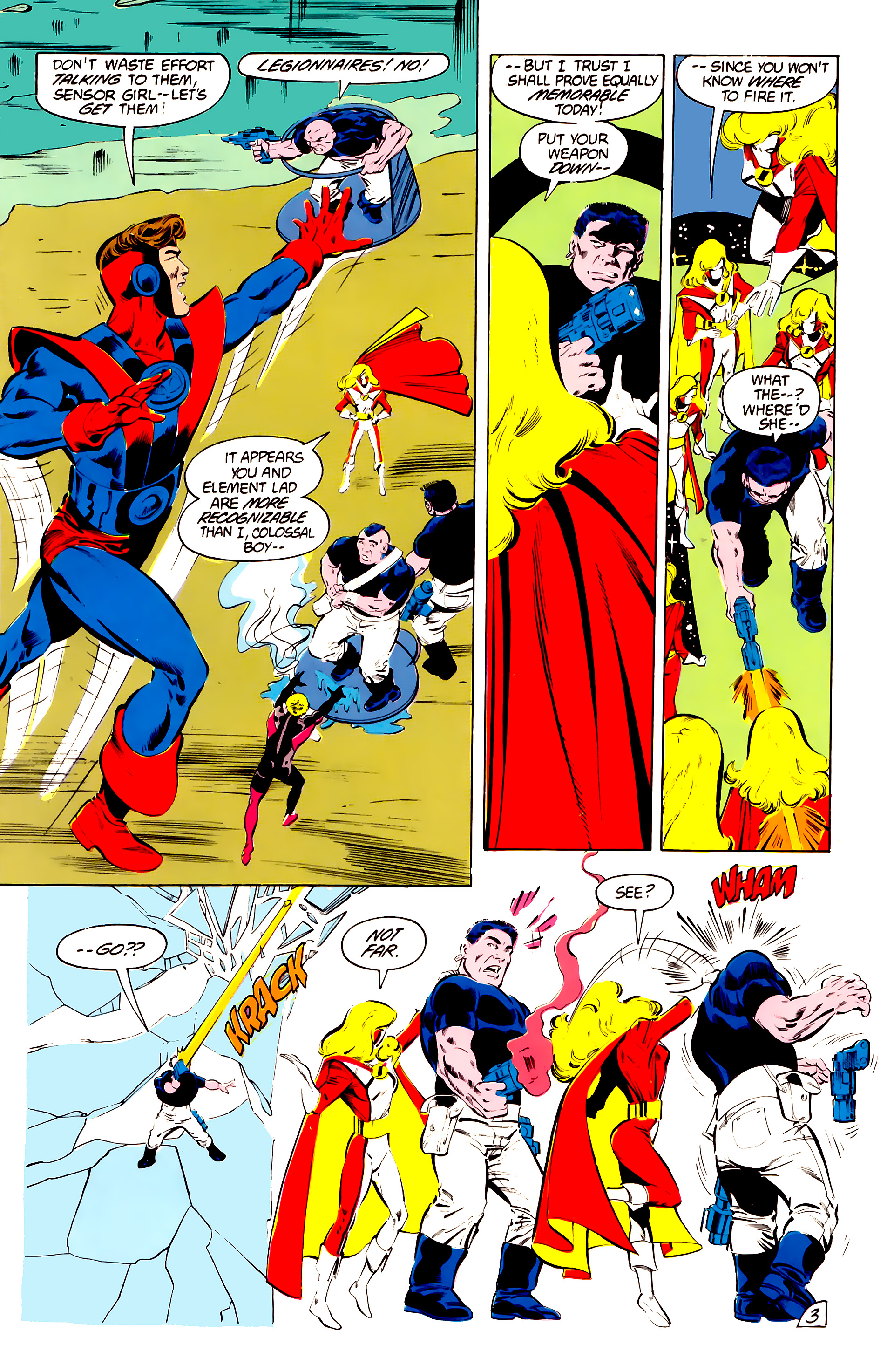 Legion of Super-Heroes (1984) 41 Page 3
