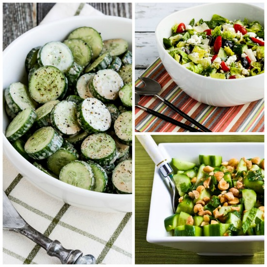 25 Low-Carb Cucumber Salads to Keep You Cool (and Kalyn Takes a Vacation!)