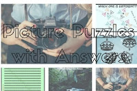 Picture Puzzles with Answers