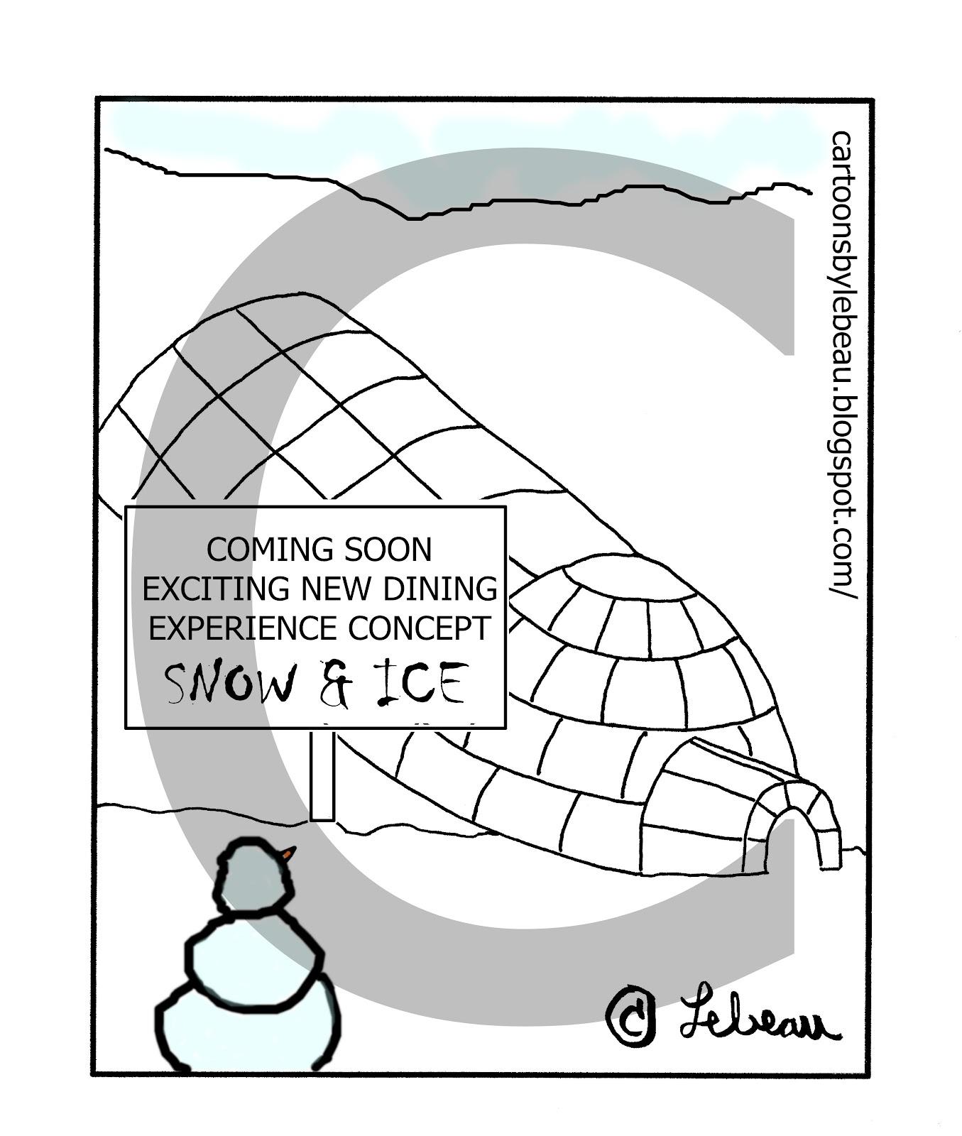 Cartoons By Lebeau February