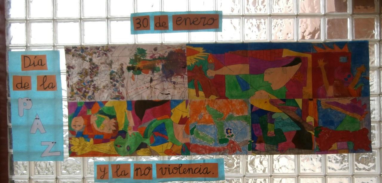 """Día De La Paz 30 De Enero De 2007: Colegio """"Mata Linares"""". San Vicente De La Barquera"""