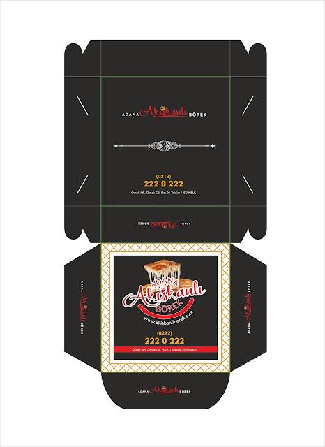 Adana Akışkanlı Börek Kutu Tasarımı