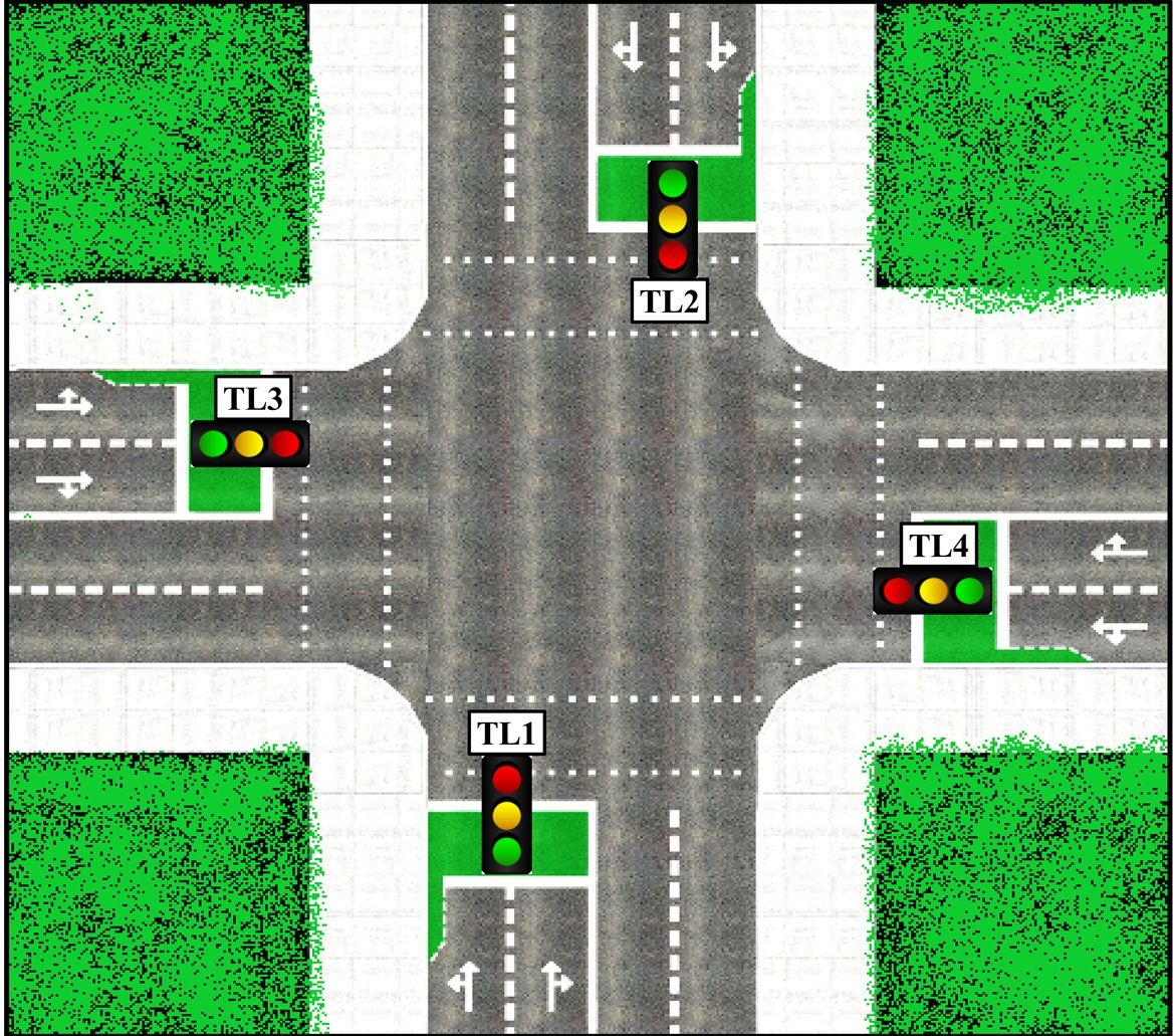 Way Traffic Lights Circuit Pictures
