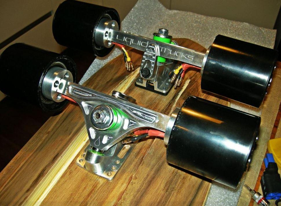 wackyboards: Hub Motor Electric Skateboards