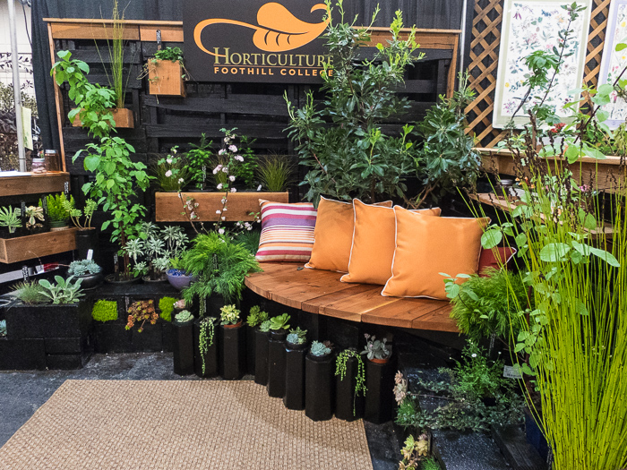 A Small San Francisco Flower And Garden Show With One Very Interesting Native Garden