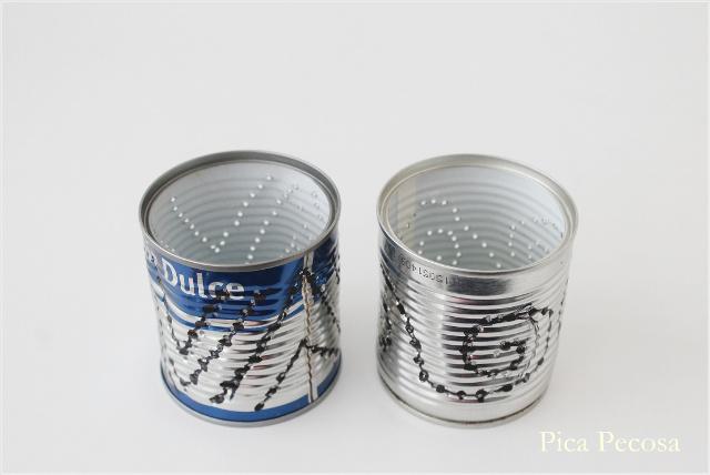Haz farolillos diy para las noches de verano con latas for Farolillos para velas
