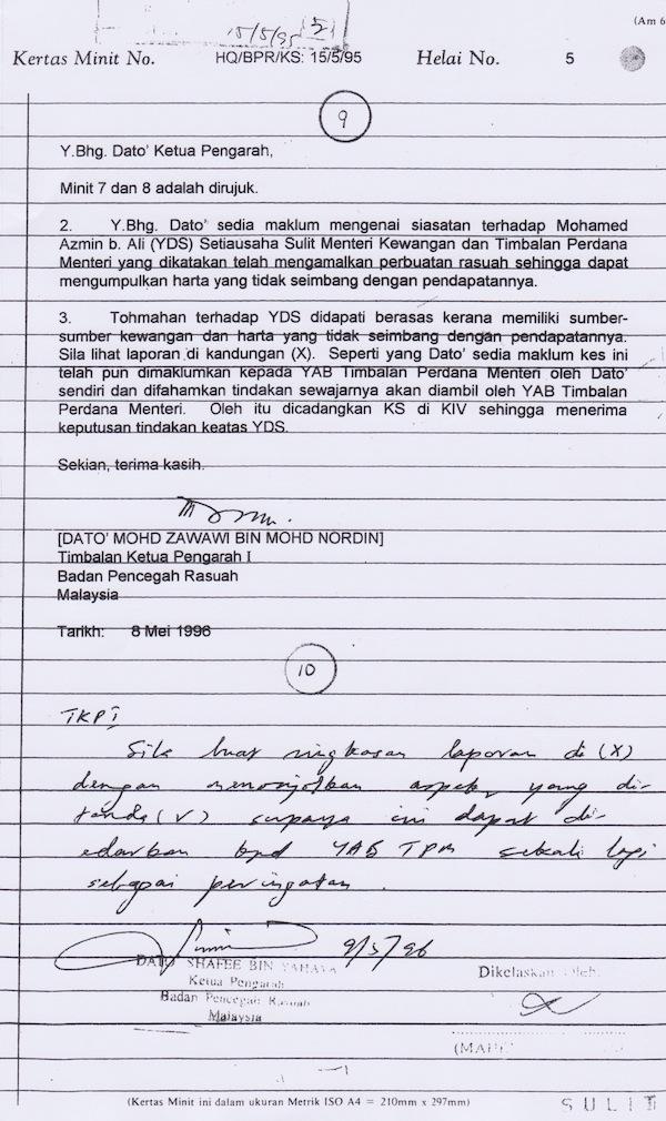Contoh Format Laporan Siasatan Dalaman Jawat Koso