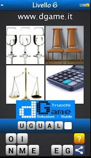 PACCHETTO 2 livello 6 - Soluzioni Trova la Parola - Foto Quiz con Immagini e Parole