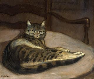 chat  Théophile-Alexandre Steinlen