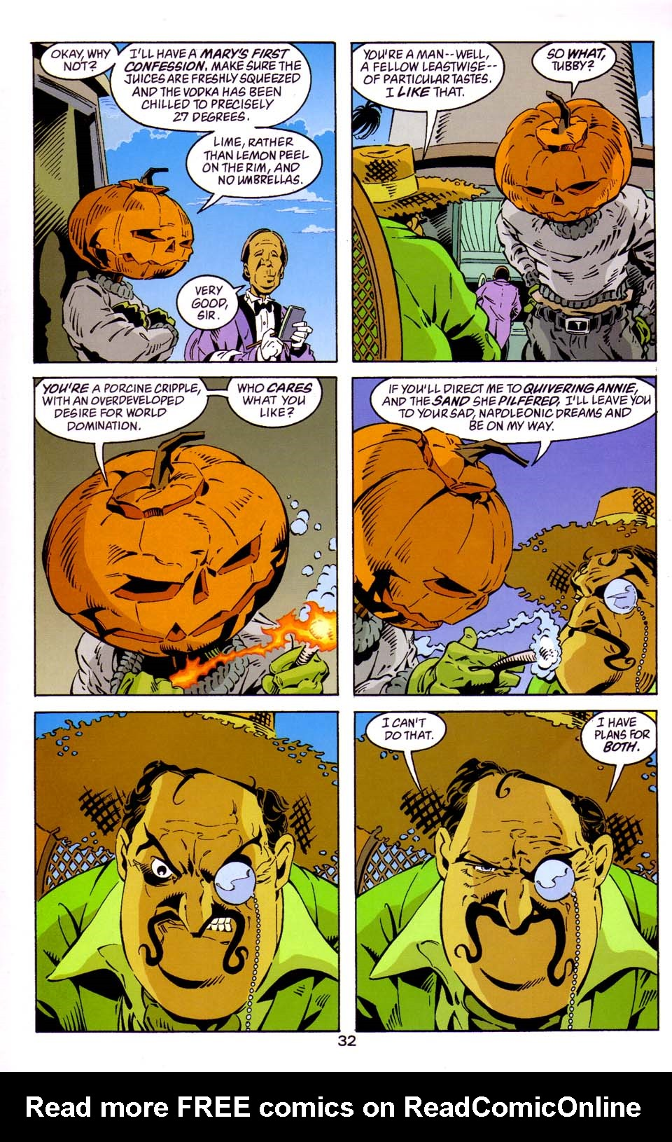 Read online Merv Pumpkinhead, Agent of D.R.E.A.M. comic -  Issue # Full - 33