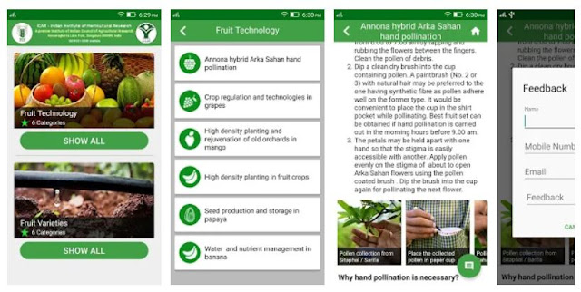 Fruitcrops Mobile App by IIHR