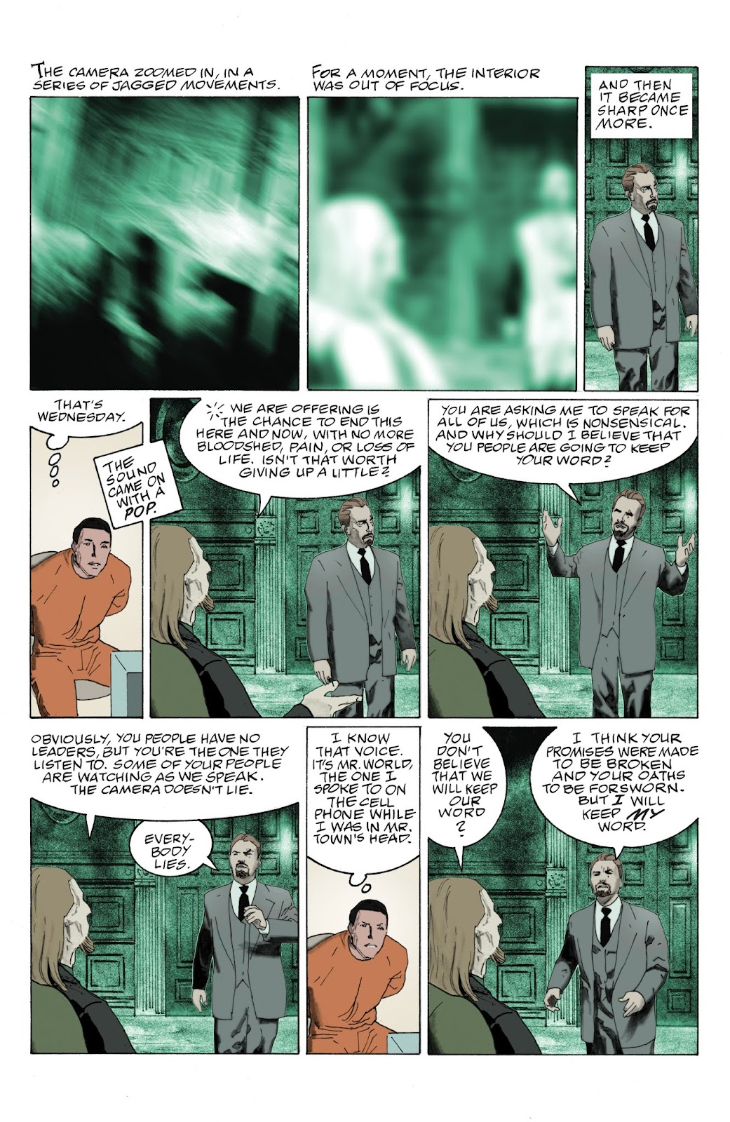 American Gods: My Ainsel issue 9 - Page 10