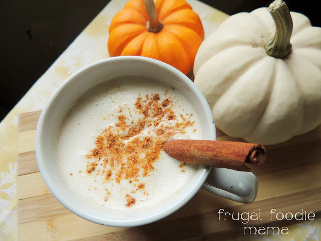 The classic hot buttered rum mix gets a delicious holiday makeover with the addition of pumpkin and chai spices.