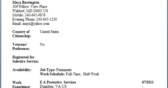 security officer resume templates in word format free download