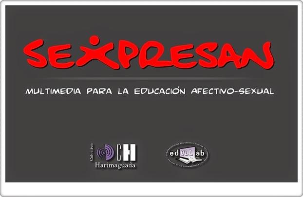 """""""Sexpresan"""" (Aplicación interactiva de Educación Afectivo-Sexual de Secundaria)"""
