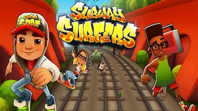 Download and Execute Subway Surfers on Computer using keyboard