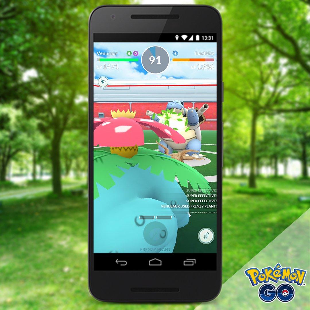 Pokémon GO - venusaur