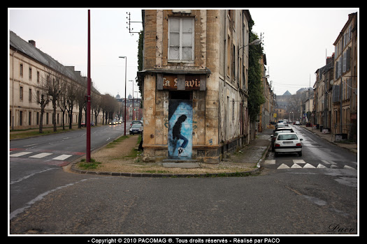 Michael Jackson street art ville de Sedan