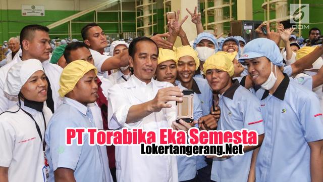 Lowongan Kerja PT Torabika Eka Semesta CIkupa Tangerang
