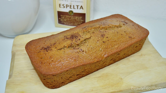 receta recipe bizcocho limon healthy fit espelta integral