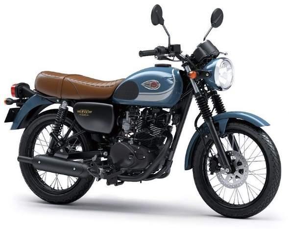 Kawasaki W175 Biru Muda