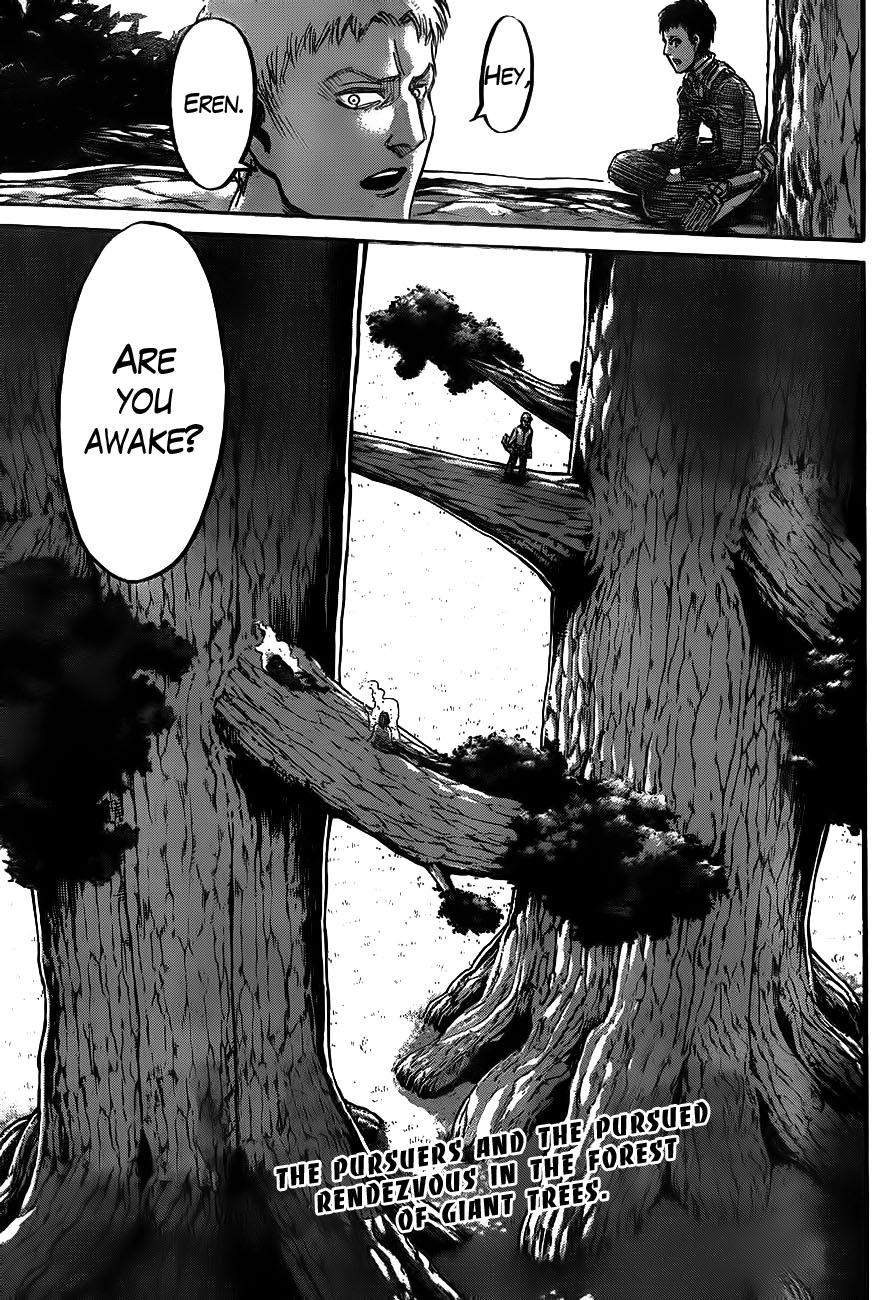Shingeki no Kyojin Ch 45: Pursuers