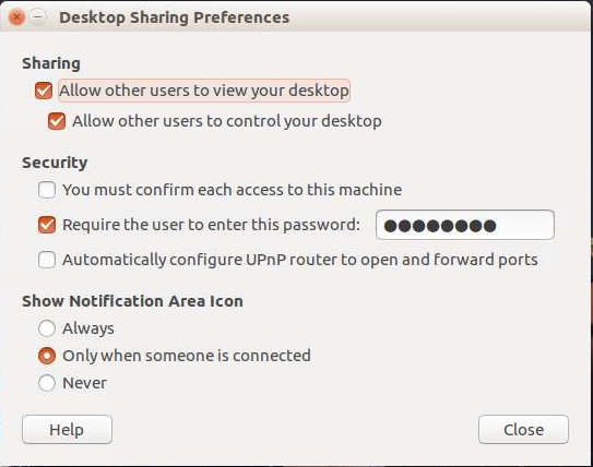 How to enable VNC remote access to Ubuntu