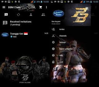 BBM Mod Point Blank