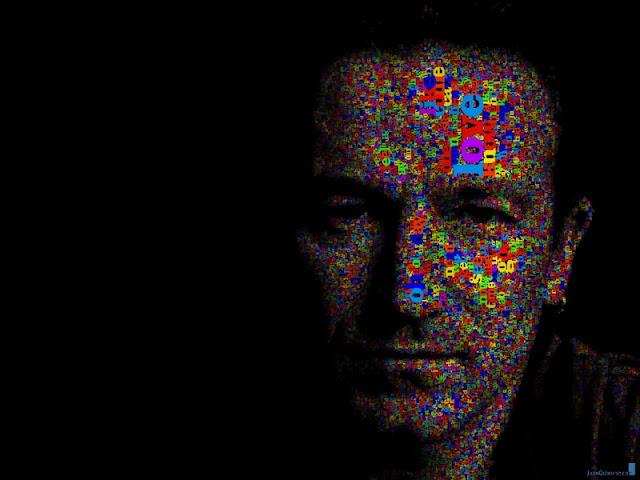 "(Juan Osborne) Portrait ""U2-BONO"""