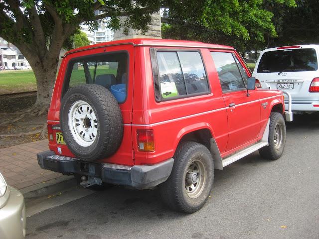 Have A 1991 Pajero Swb 25 Auto Allworn2wdvalvessensors