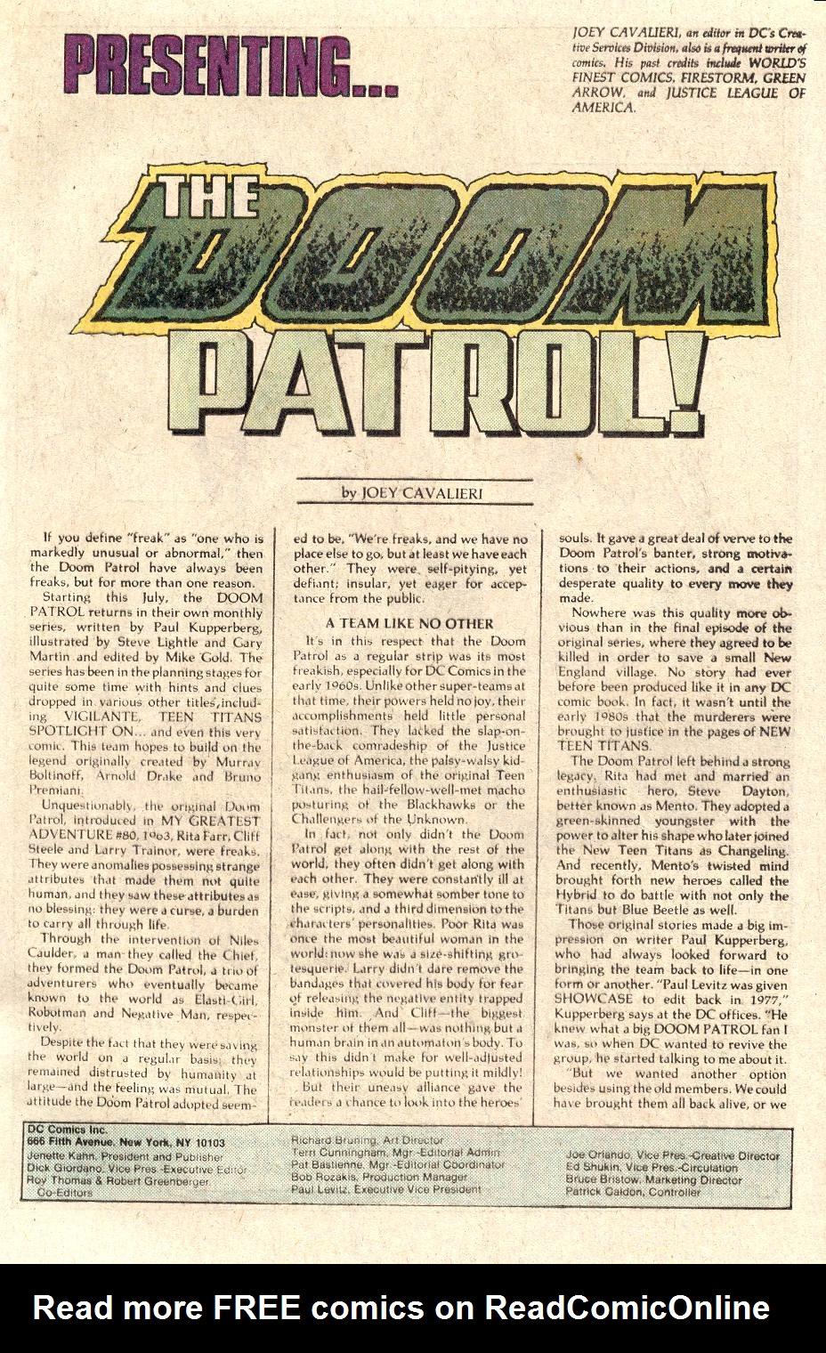 Read online Secret Origins (1986) comic -  Issue # _Annual 1 - 32