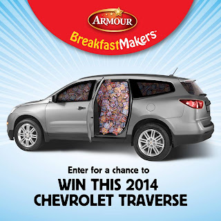 Enter for a chance to win a 2014 Chevrolet Traverse