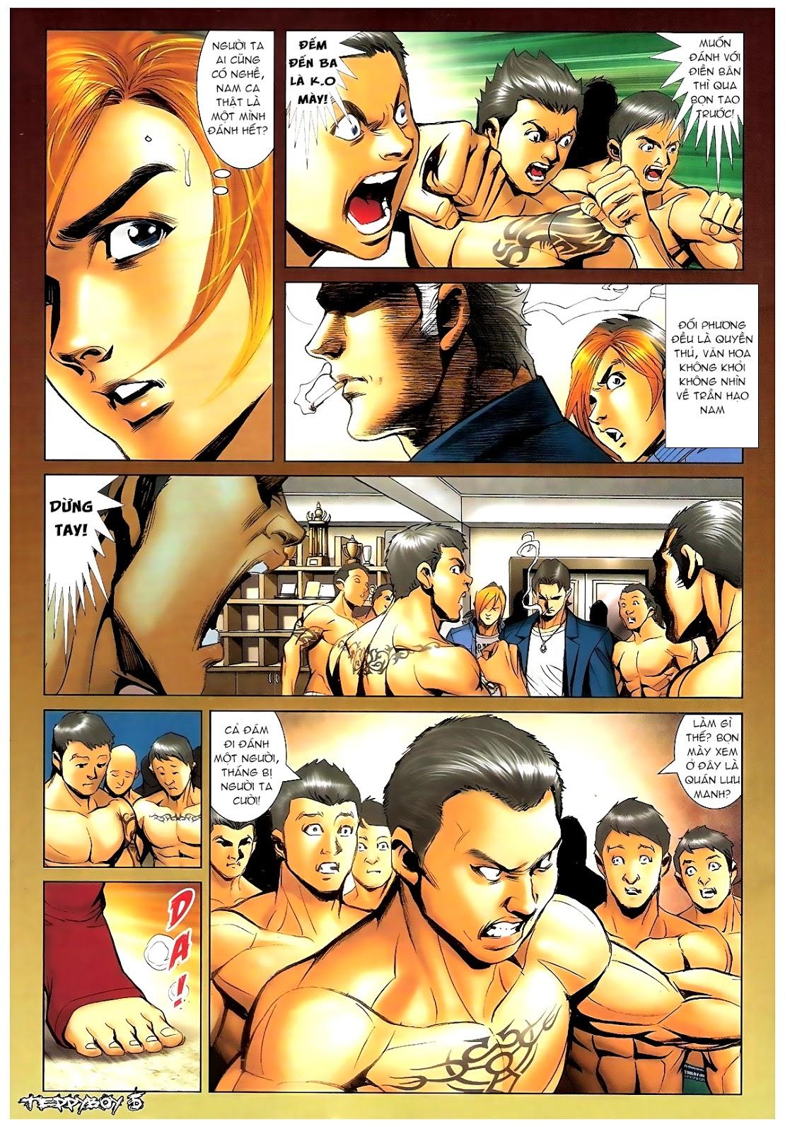Người Trong Giang Hồ - Chapter 1387: Hạo Nam vs Điền Bân - Pic 3