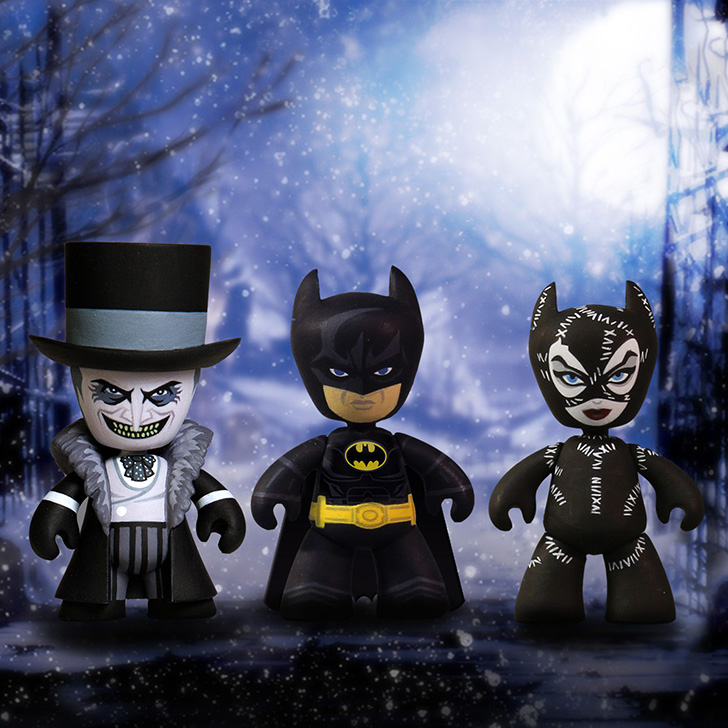 Batman Returns Mini Mez-Itz Batman Penguin And Catwoman Coming Spring 2016